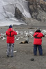Antarctic Cruise - Day 7 - Deception Island - Whaler's Bay Landing - Photographing the Seal by the Whale Bones